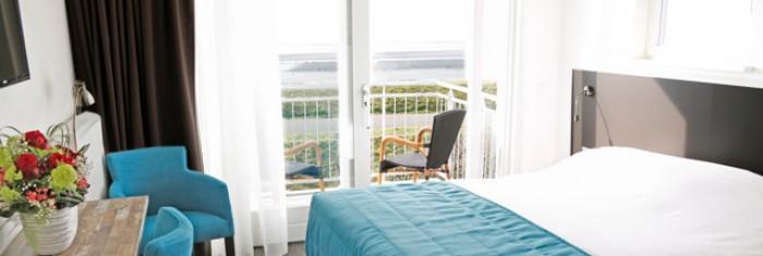 Zeezichtkamer met balkon