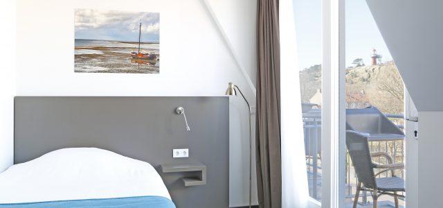 Vuurtorenkamer met balkon 1 persoons